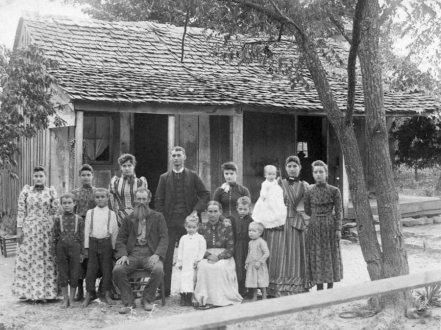 Smith GW & Amanda Family ca 1890