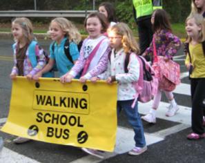 walking school bus 400